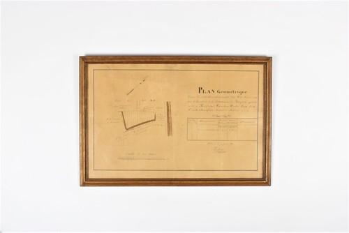 thumbnails bij product Plan géométrique à Muizen, 1841