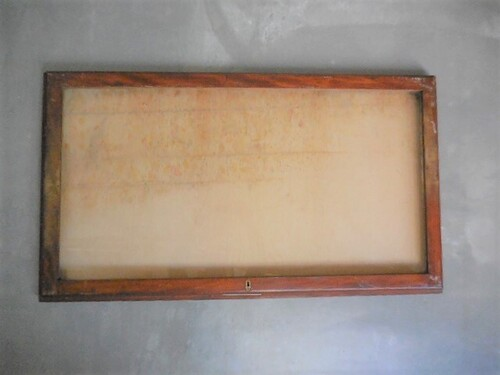 thumbnails bij product ancienne vitrine en bois