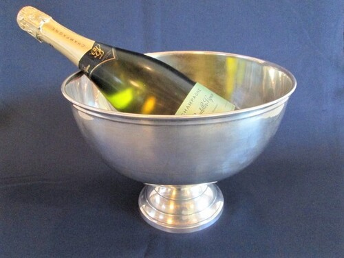 thumbnails bij product old silver plated champagne bucket