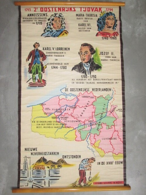 thumbnails bij product old school map: 2° Austrian period