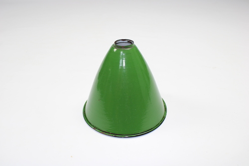 thumbnails bij product old enamel lamp shade
