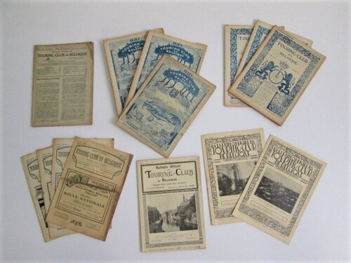 thumbnails bij product old magazines, 1919, Touring Club