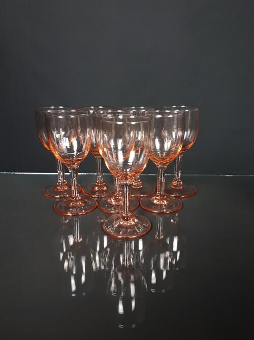 thumbnails bij product petits verres en verre rose