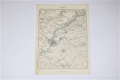thumbnails bij product Carte ancienne de Lierre, 1898