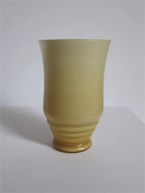 thumbnails bij product vase Art Deco en verre opaline
