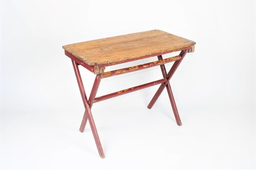 thumbnails bij product table de bistro ancienne en bois