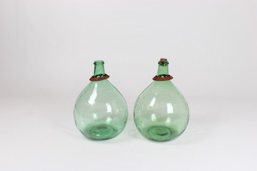 thumbnails bij product Old French bottle or dame jeanne