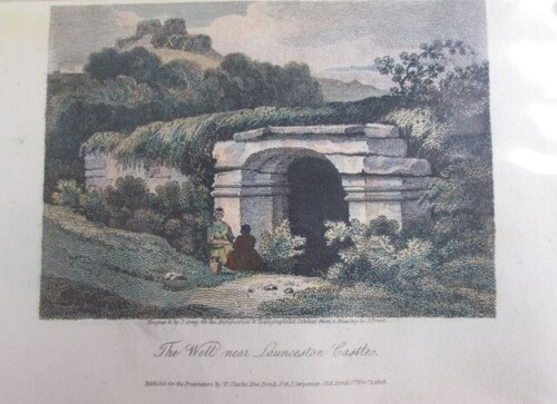 "thumbnails bij product ""The Well near Launceston Castle"""