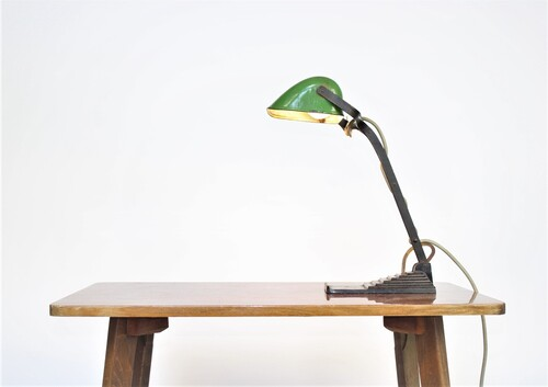 thumbnails bij product Old Art Deco desk lamp, ERPE
