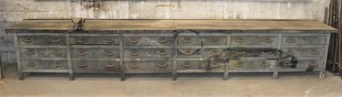 thumbnails bij product large chest of drawers - workbench