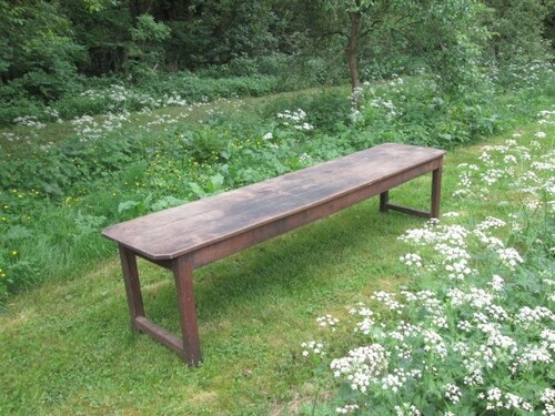 thumbnails bij product very long and old French table