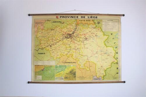 thumbnails bij product carte scolaire de la province de Liège