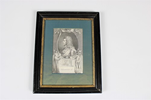thumbnails bij product engraving of King George I
