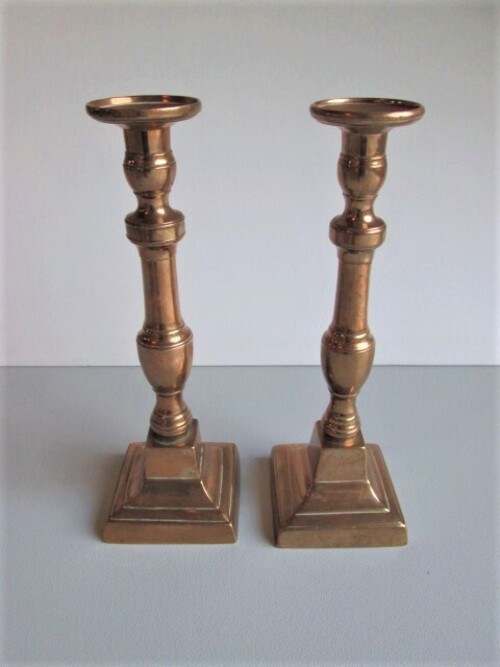 thumbnails bij product Pair of candlesticks, 19th century