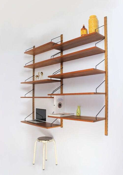 thumbnails bij product Etagère modulable, Poul Cadovius, design danois