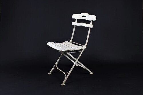 thumbnails bij product ancienne chaise de bistro