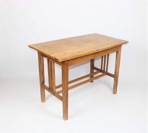 thumbnails bij product Table antique en bois de cerisier, 19ième siècle
