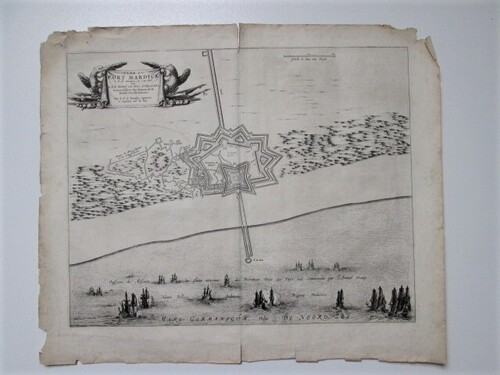 thumbnails bij product engraving: Plan du Fort Mardick, 1646