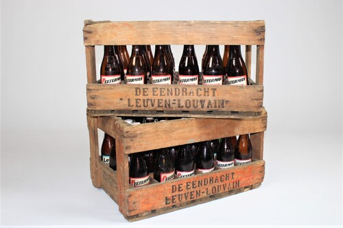 thumbnails bij product Old wooden crates - brewery De Eendracht - Leuven