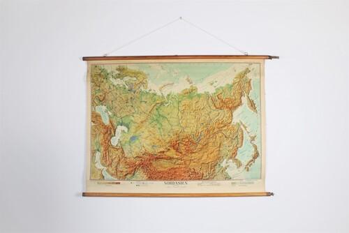 thumbnails bij product schoolkaart Noord-Azië