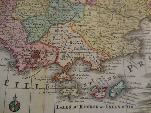 thumbnails bij product map Provence, 1730
