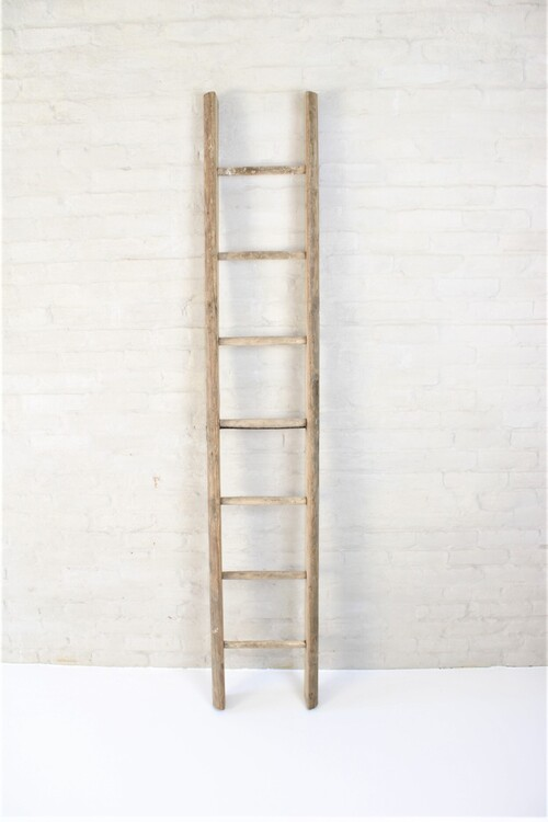 thumbnails bij product old wooden ladder, 170 cm