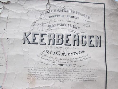 thumbnails bij product antique map of Keerbergen (East, 1)