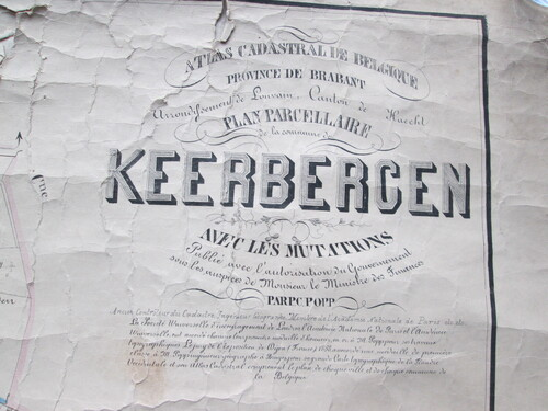 thumbnails bij product carte de Keerbergen, 19° siècle (Est, 1)