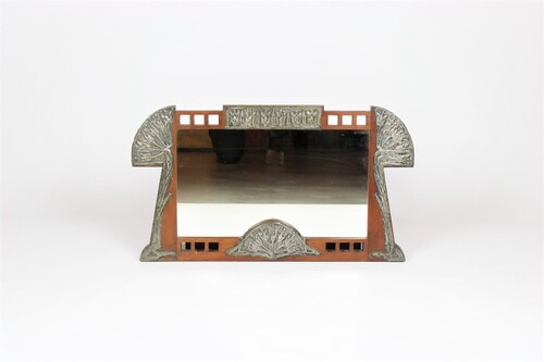 thumbnails bij product Art Nouveau spiegel