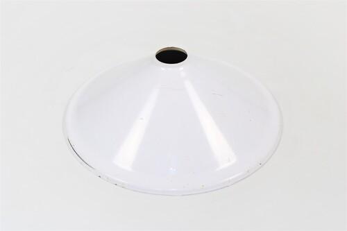 thumbnails bij product oude witte metalen lampenkap