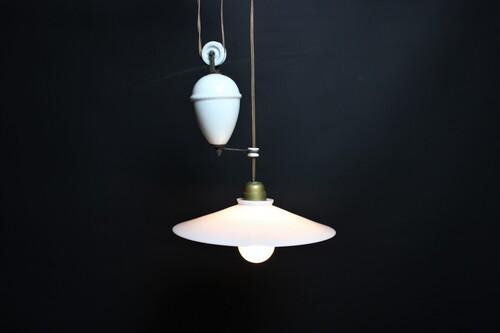 thumbnails bij product lampe opaline avec contrepoids
