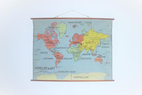thumbnails bij product Carte du monde