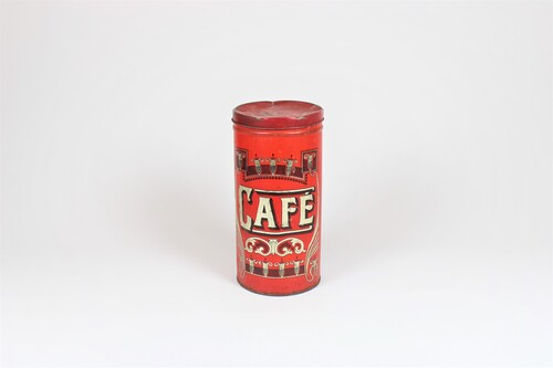 thumbnails bij product old coffee tin
