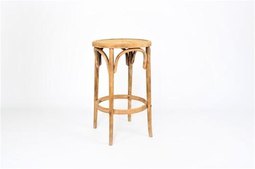 thumbnails bij product Kruk in gebogen hout. Thonet-model