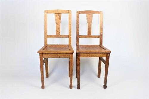 thumbnails bij product 2 Art Deco chairs