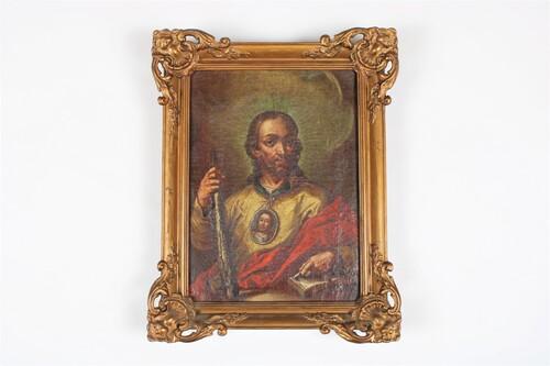 thumbnails bij product painting Judas Taddeüs by Mathieu Elias, 17-18th century