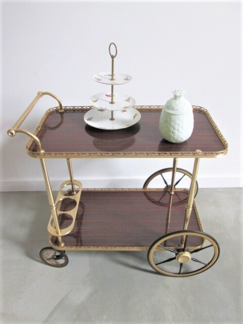 thumbnails bij product vintage drink trolley