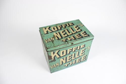 thumbnails bij product old tin box: Koffie Van Nelle