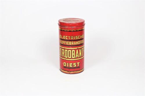 thumbnails bij product old Belgian coffee tin