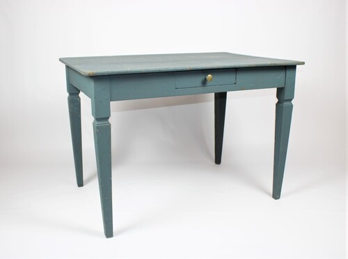 thumbnails bij product blue table in oak