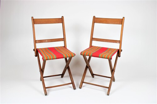 thumbnails bij product 2 vintage chairs, Torck