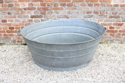 thumbnails bij product large galvanised tub