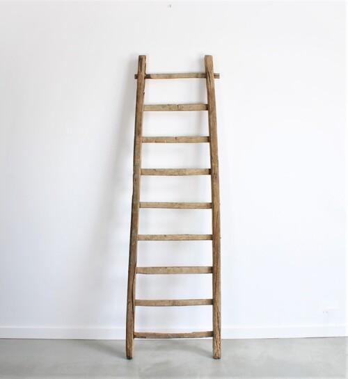 thumbnails bij product grote verweerde oude ladder