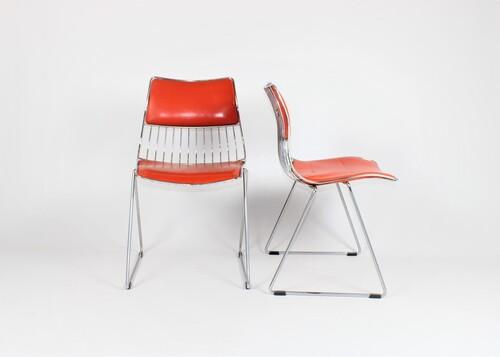 thumbnails bij product 2 vintage chairs by Rudi Verelst for Novalux, 70