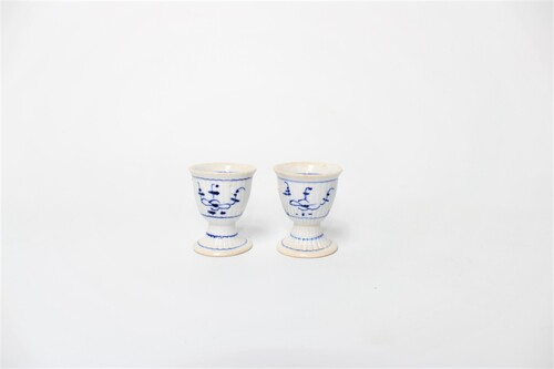 thumbnails bij product 2 egg cups in porcelain
