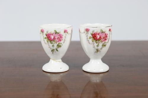 thumbnails bij product coquetiers anciens à décor floral