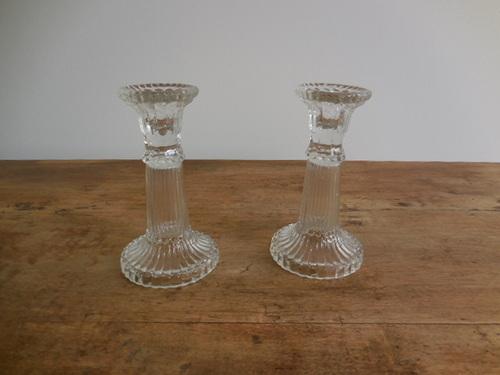 thumbnails bij product Kleine glazen kandelaars