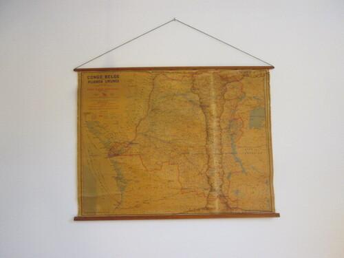 thumbnails bij product oude landkaart van Congo Belge