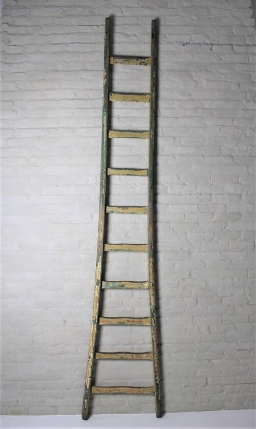 thumbnails bij product oude kleurrijke ladder, 260 cm