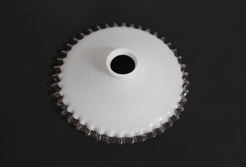 thumbnails bij product Opaline lampenkap met gekartelde rand